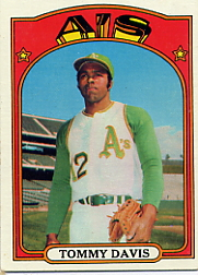 1972 Topps Baseball Cards      041      Tommy Davis